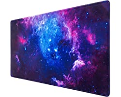 Gaming Mouse Pad, Canjoy Extended Mouse Pad, 31.5x15.7inch XXL Large Big Computer Keyboard Mouse Mat Desk Pad with Non-Slip B