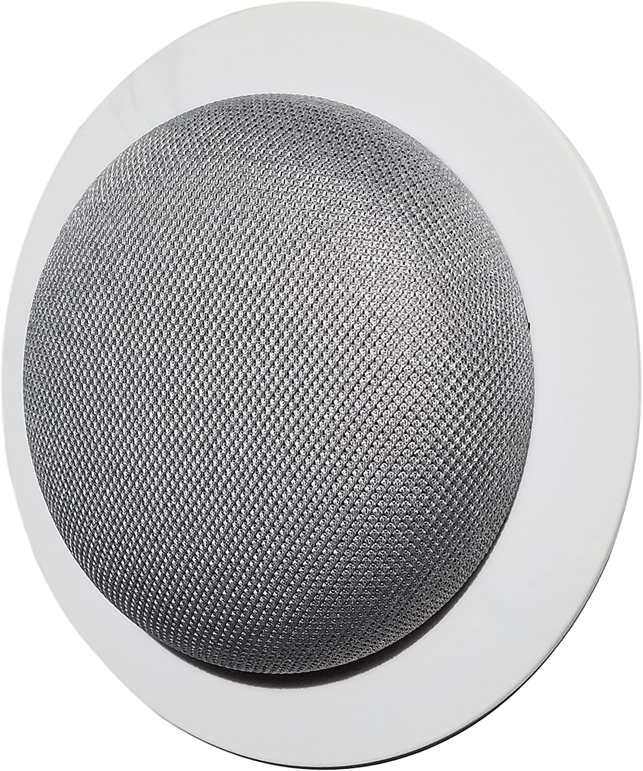Amazon Com Mount Genie Simple Built In Wall Or Ceiling Mount For Google Home Mini 1st Gen Award Winning Design Improves Sound And Appearance Designed In Usa 1 Pack Home Audio