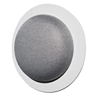 The Simple Built-in Google Home Mini Wall Mount: Custom Built-in Wall Or Ceiling Mount Holder for Google Home Mini Voice Assistants - Designed in The USA by Dot Genie (1-Pack)