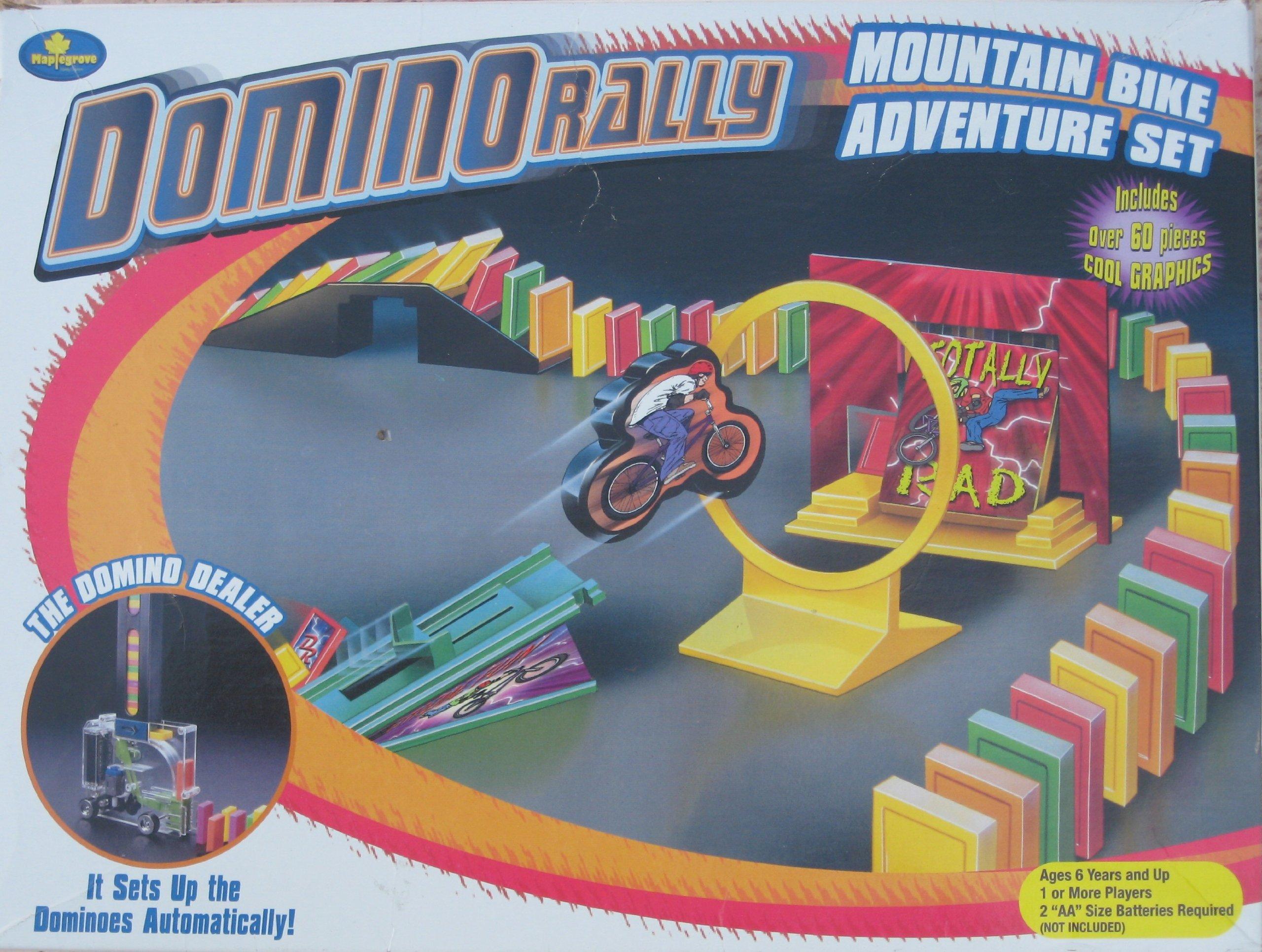Domino Rally Bike Adventure Set by Maplegrove