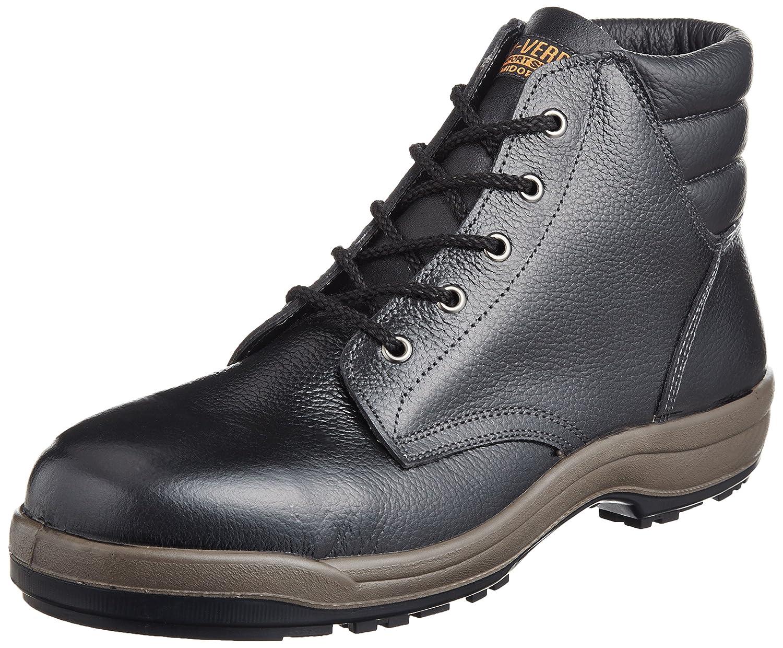 [ミドリ安全] 安全靴 中編上 SG220 B004D1HXBG 25.0 cm ブラック