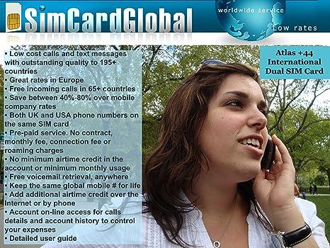 Amazon.com: simcardglobal tarjeta de micro-SIM Internacional ...