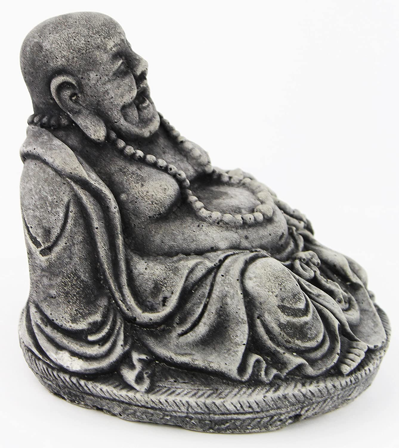 Amazon Com Laughing Buddha Home And Garden Statues Concrete Figures Kitchen Dining