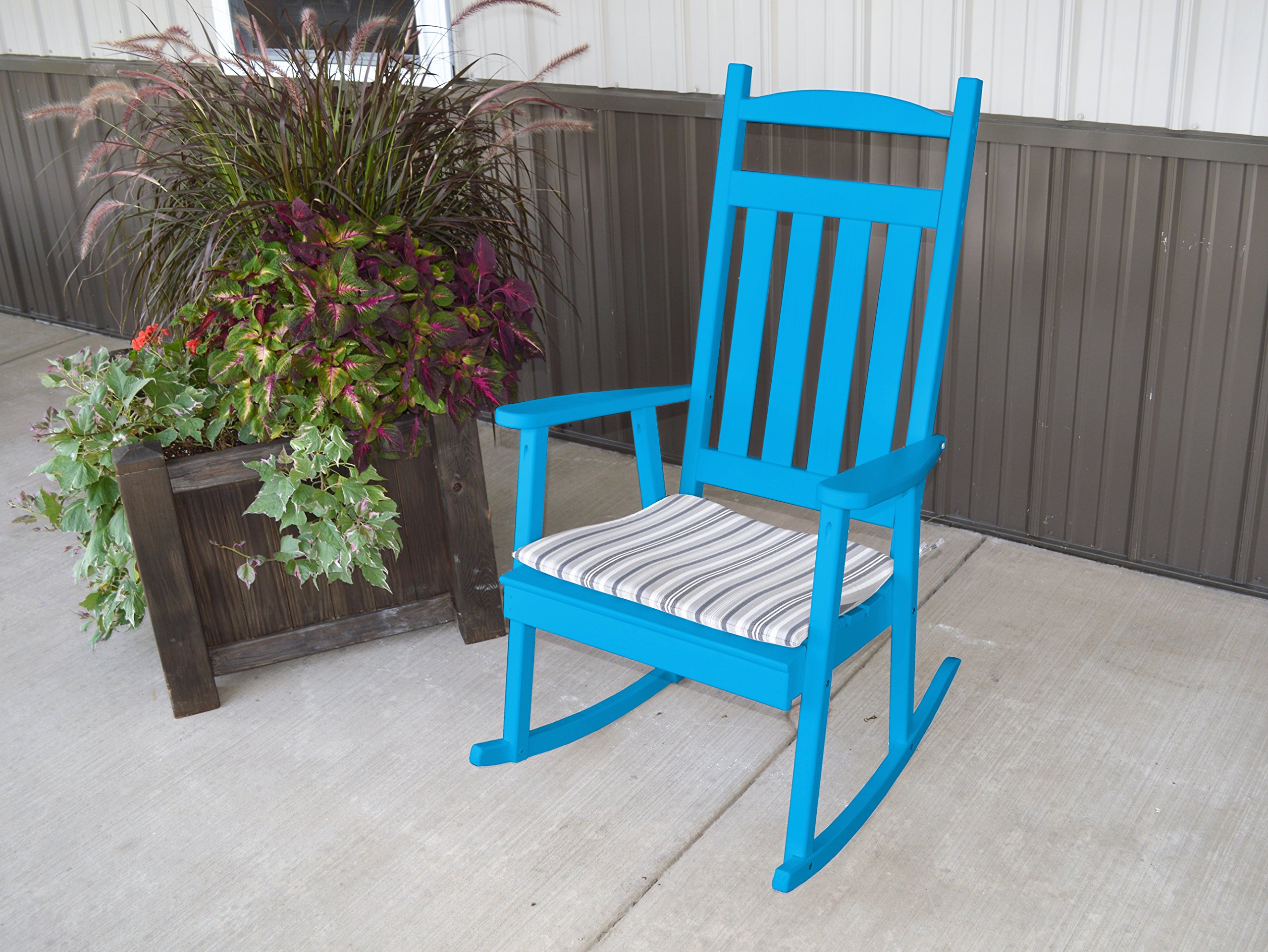 BEST ROCKING CHAIR FOR LIVING ROOM-PORCH FURNITURE, Classic Rocker Country Decor to Contemporary , Cozy By A Fireplace Or Patio, Amish US Made in 9 Gorgeous Colors by ASPEN TREE INTERIORS