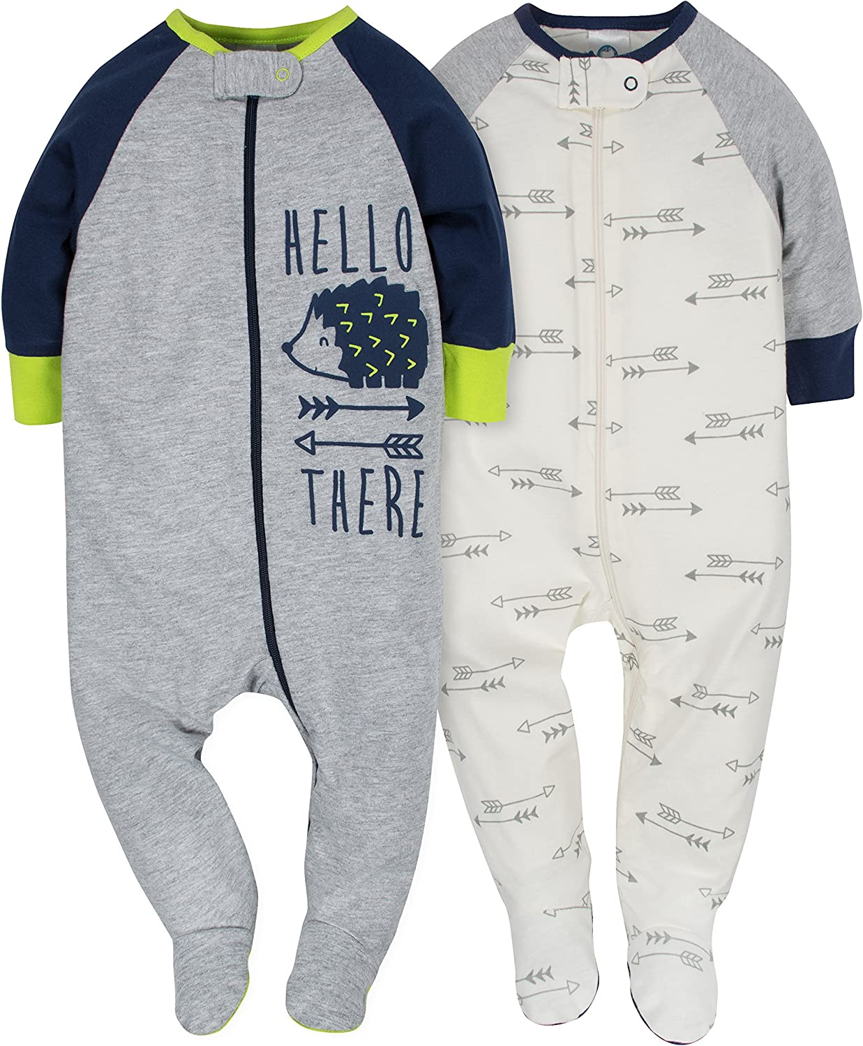 GERBER Baby Boys 2-Pack Sleep N Play