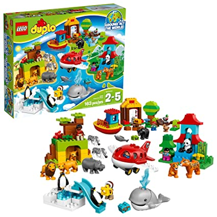 Amazoncom Lego Duplo Around The World 10805 Amazon Exclusive