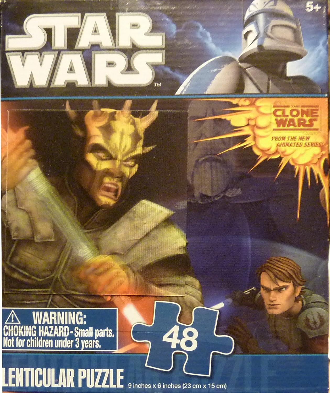 【10%OFF】 Star Wars 48 piece 3D Lenticular 6 Puzzle (Lightsaber Kenobi SAVAGE OPRESS Sith Lord 9 x 6 (Lightsaber Duel Anakin Skywalker Obi-Wan Kenobi B005PMSAZU, 品質は非常に良い:2e2485e7 --- quiltersinfo.yarnslave.com