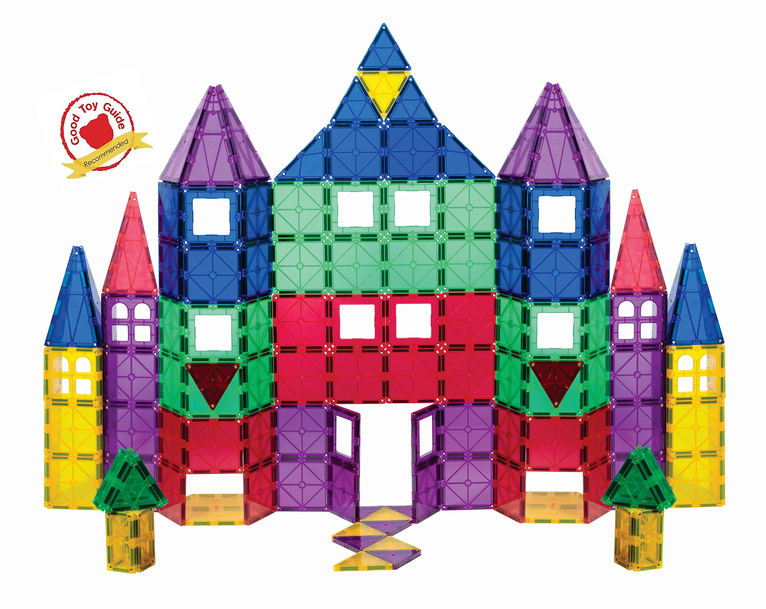 Playmags 100 piece Magnetic Tiles