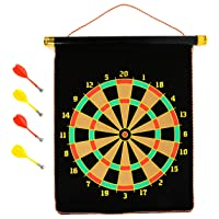 Klapp KL-DB Foldable Double Sided Magnetic Dart Board with Four Dart