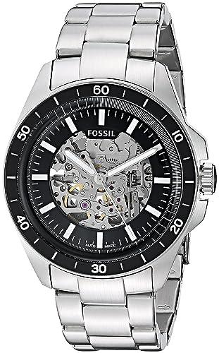Fósil de hombre me3146 deporte 54 automático reloj de acero inoxidable: Amazon.es: Relojes