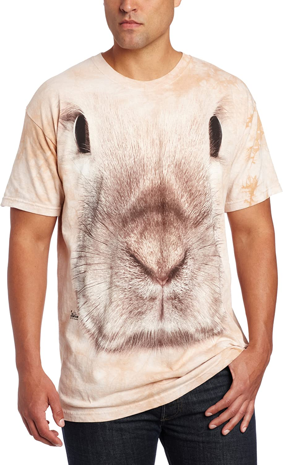 Special price for a limited time The Mountain Super-cheap Men's Face T-Shirt Bunny