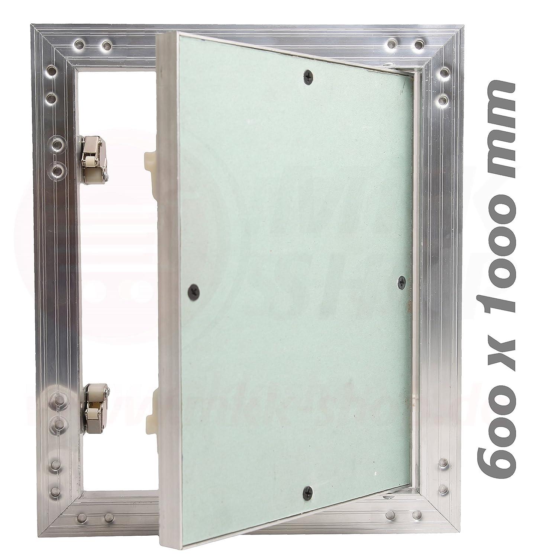 Revisionsklappe GK-Einlage 600 x 1000 mm Gipskarton 12,5 mm ...
