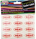 The Kosher Cook KCKH2001M Kosher Meat Stickers, 1-Piece