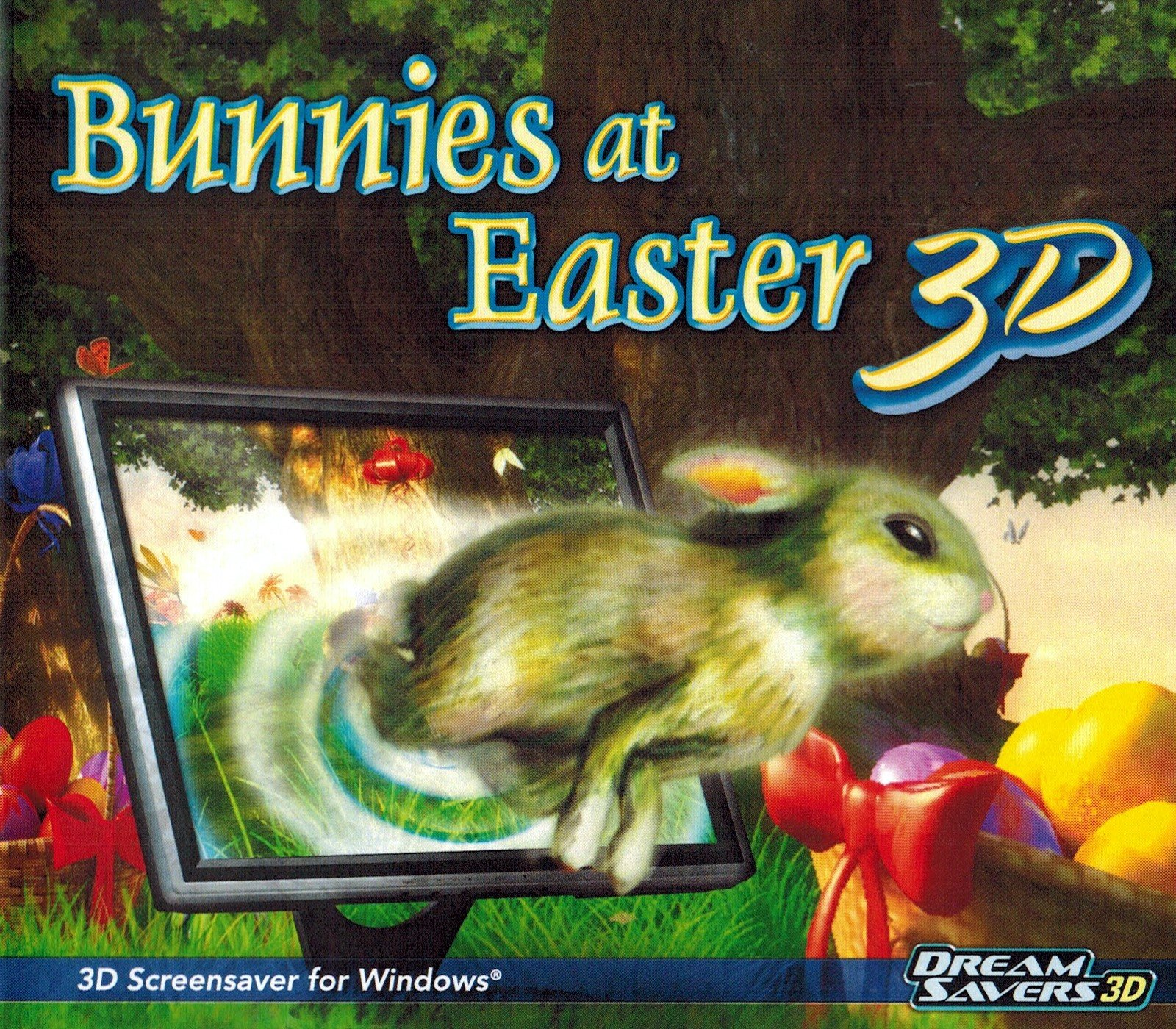 Bunnies at Easter 3D Screensaver by SelectSoft Publishing