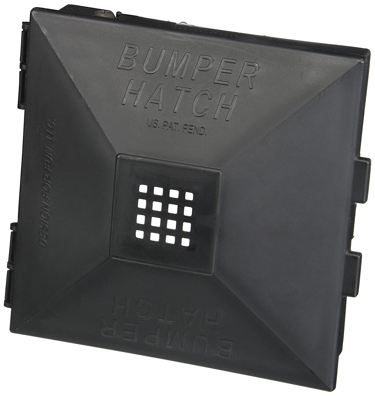 Design for Fun 910 Black Bumper Hatch Cover, (Pair) NOSYJ