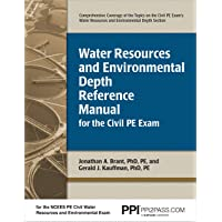 PPI Water Resources and Environmental Depth Reference Manual for the Civil PE Exam (Paperback) – A complete Reference Manual for the NCEES PE Civil Exam