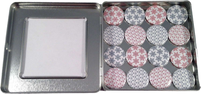 Nautical Refrigerator/Magnet Board Magnet Set