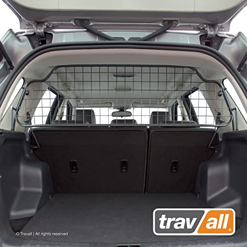 Travall Guard Compatible with Land Rover LR2 2006-2014 TDG1063 – Rattle-Free Steel Vehicle Specific Pet Barrier