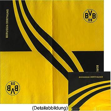 BVB 09 Borussia Dortmund Servietten