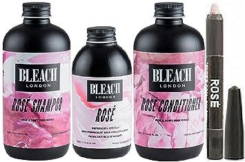 Amazon Com Bleach London Rose Shampoo X 250ml Bleach London Rose