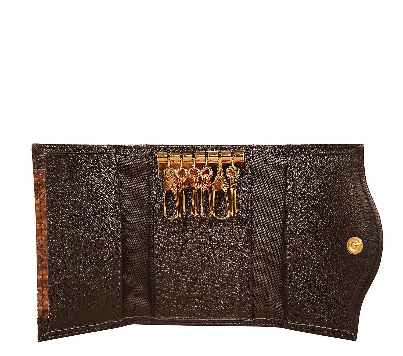 6885d6ce1a2e SILVIO TOSSI - Swiss Label Geldbeutel braun  Amazon.de  Schuhe   Handtaschen
