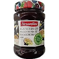 Streamline 斯特莱 混合果酱(黑加仑,西番莲,鹅莓)340g(波兰进口)