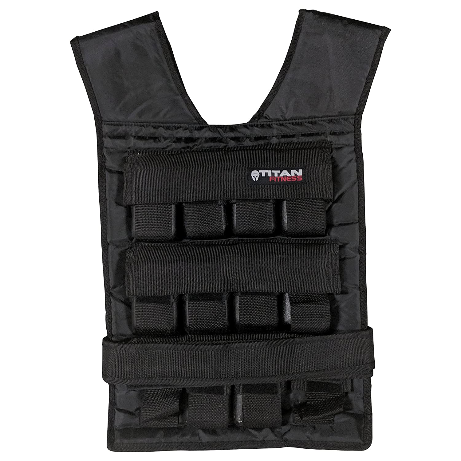Titan Adjustable Weighted Vest | 20-60 LB Titan Fitness