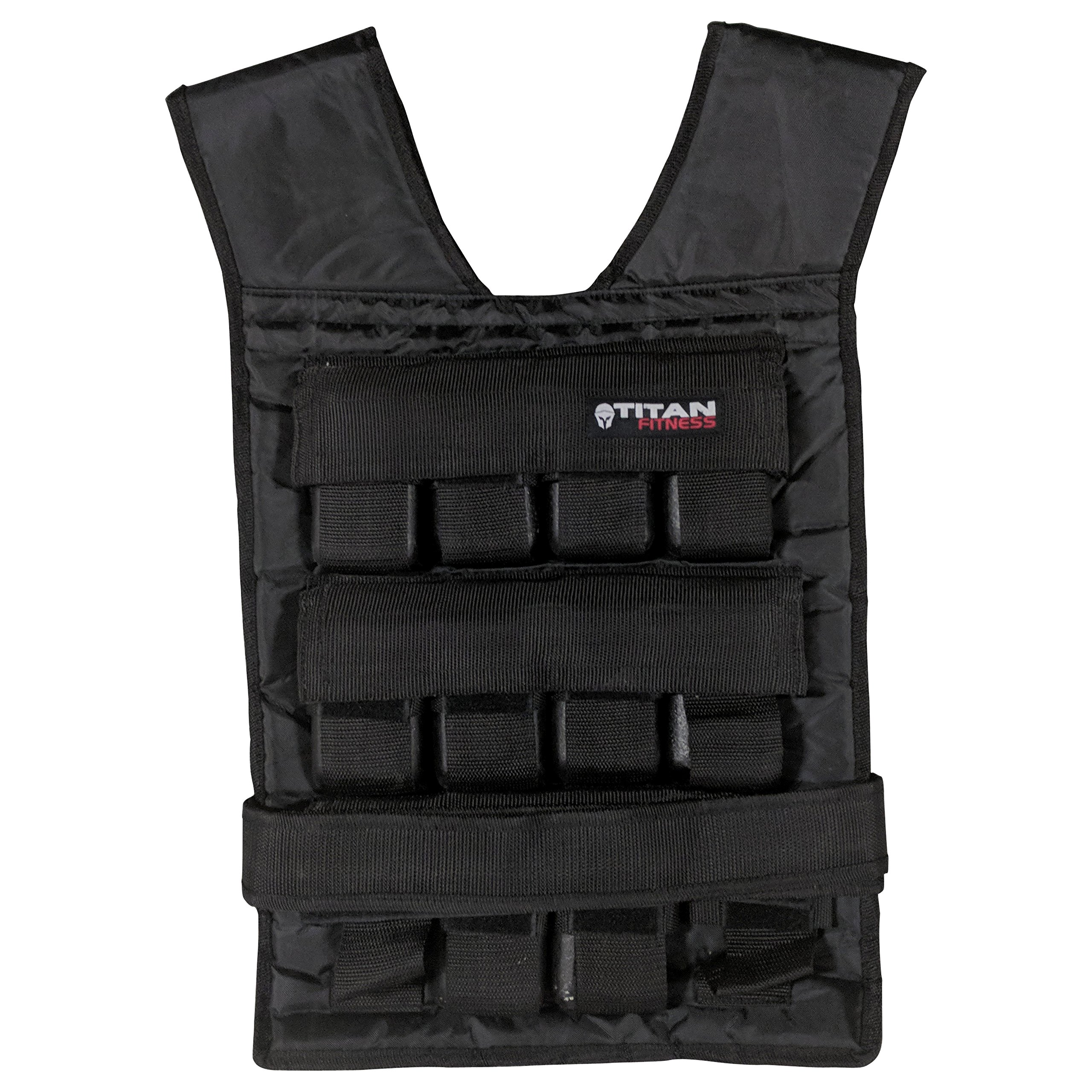 Titan Adjustable Weighted Vest 50 LB
