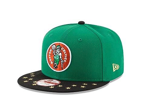 1c6e14599d6 Amazon.com   NBA Boston Celtics Star Trim 9Fifty Snapback Cap