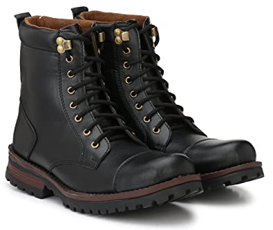 cbb52456525f Andrew Scott Men s Synthetic Leather Lace Up Boots  Buy Online at ...