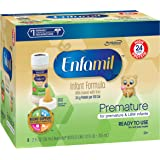 Enfamil Premature High Protein 24 Calorie, Ready to Use, 2 Fluid Ounce Nursette Bottle, Pack of 48