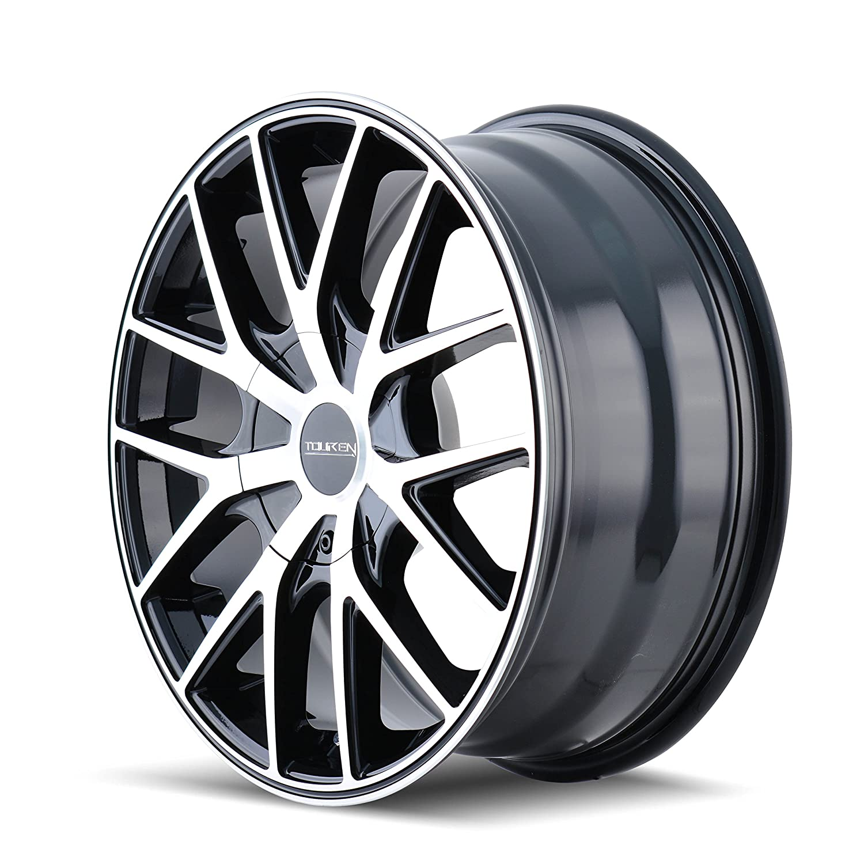 Touren TR60 3260 Black Wheel with Machined Face 17x7.5//5x108mm