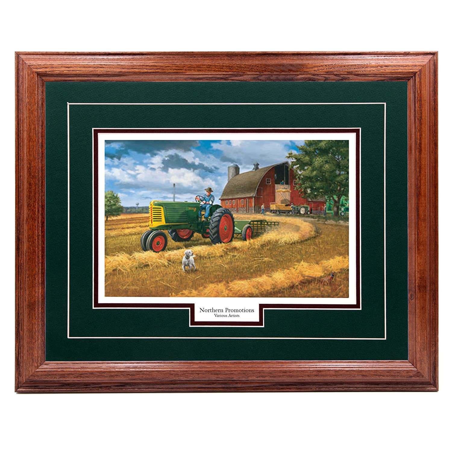 Amazon oliver twist charles freitag john deere farm amazon oliver twist charles freitag john deere farm tractor and nature classic wall art print for home office hotel cabin gift jeuxipadfo Images