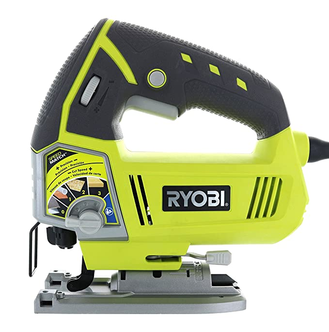 Ryobi js481lg 48 amp corded variable speed t shank orbital jig saw ryobi js481lg 48 amp corded variable speed t shank orbital jig saw w onboard led lighting system amazon greentooth Gallery