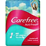 Carefree Pantyliner Acti-Fresh Tea Tree, 20ct