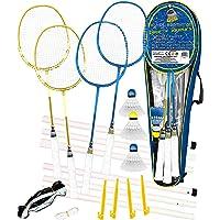 USG CSL634 Set de Badminton Mixte Enfant, Bleu