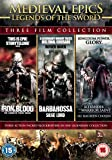 Medieval Epics: Legends of the Sword (3 Disc Boxset, Iron & Blood; Barbarossa: Siege Lord & Alexander: Warrior Saint) [DVD]