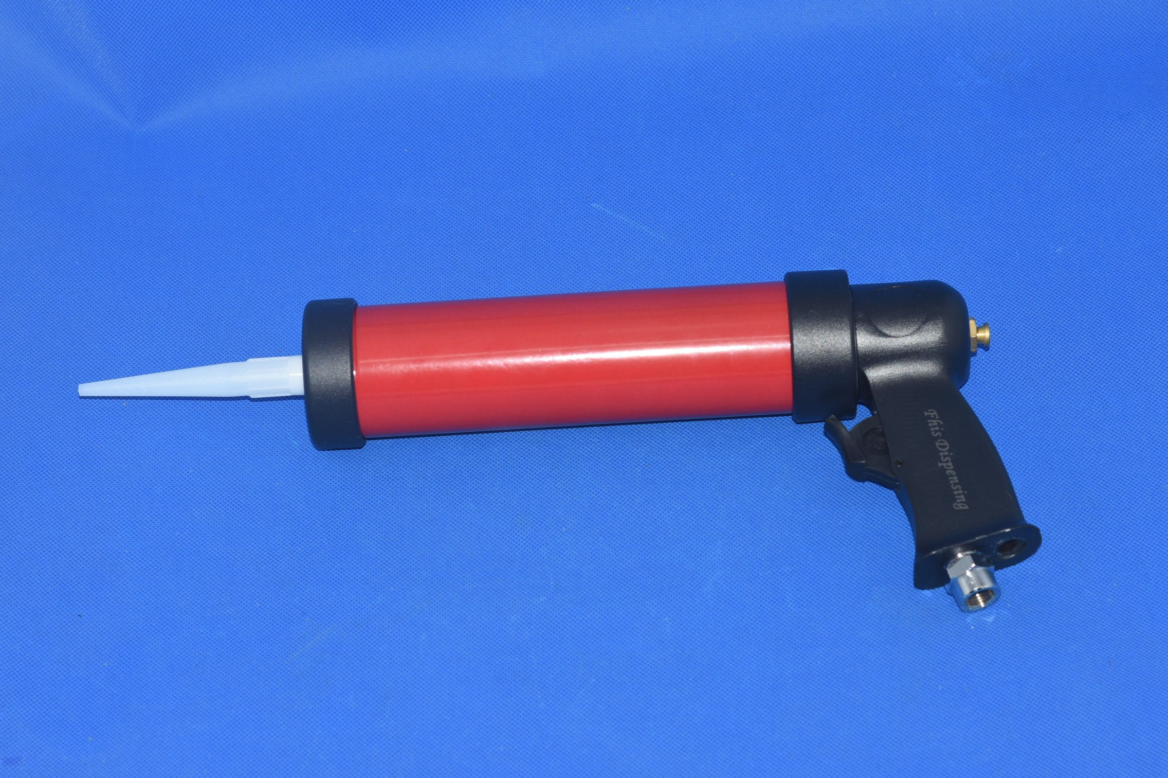 Pneumatic caulking glass glue gun 310ml 1pcs + cartridge 1pcs