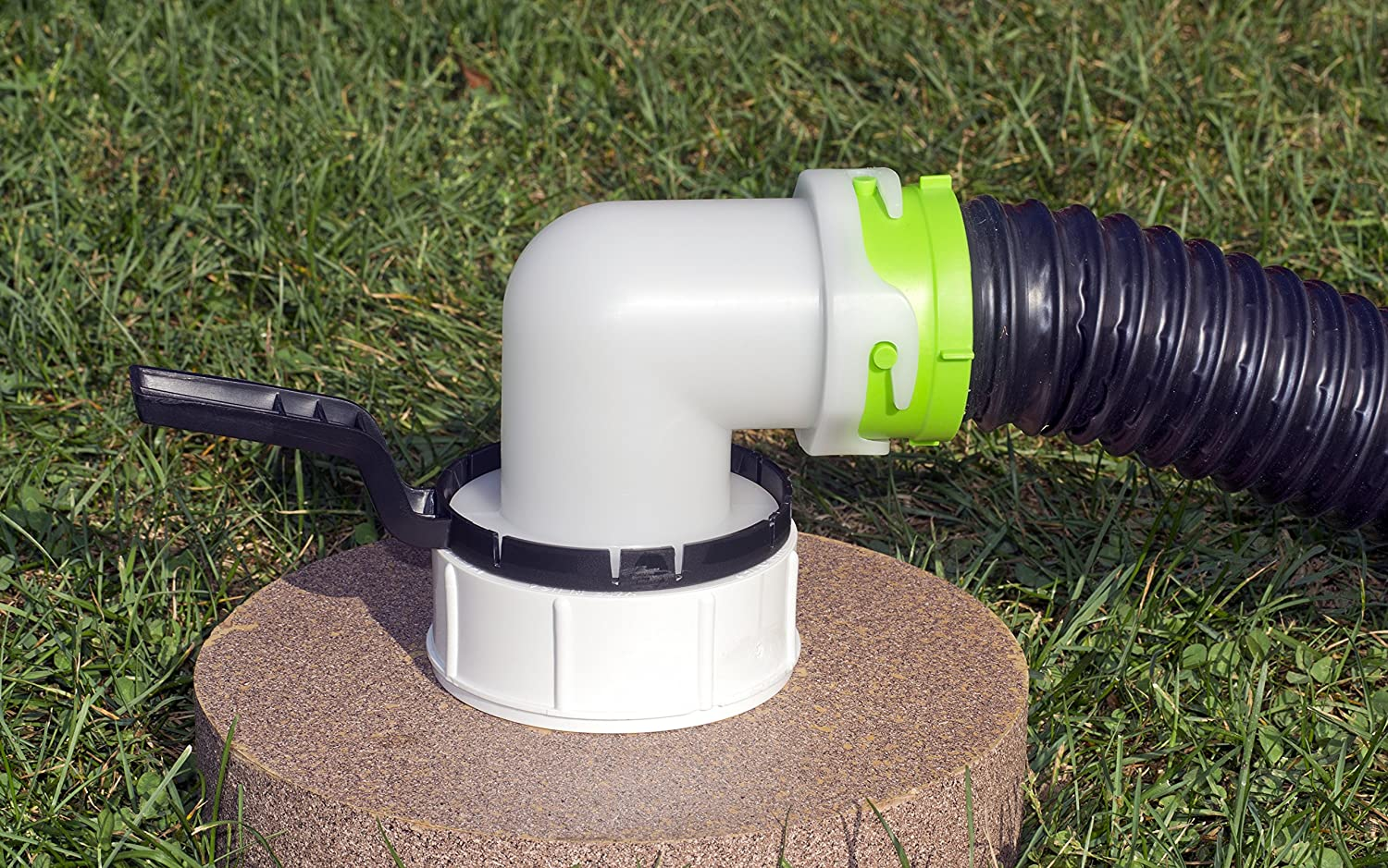 Thetford 83583-002 17879 Titan Revolve Sewer Adapter with Handle