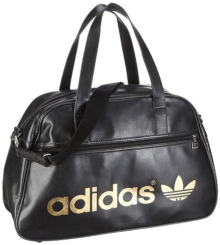 f43a224a71 adidas Originals Ac Holdall, Sac de sport femme - Noir, Cuir: Amazon ...
