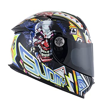 SUOMY SR Sport - Casco para Moto Integral, Multicolor (Gamble Top Player),