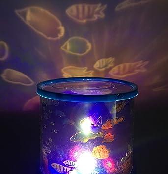 Aeeque Ocean Fish Led Light Projector Baby Night Light Relaxing Mood Deep Sea Fish Light for & Amazon.com: Aeeque Ocean Fish Led Light Projector Baby Night Light ... azcodes.com