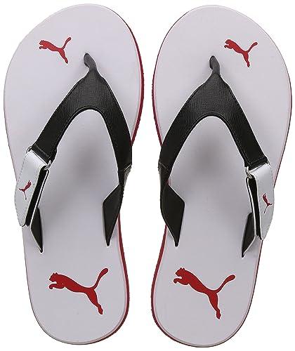 a9841bf9029a Puma Men s Breeze V2 IdpMen White-Ribbon Red Black Sandals-6 UK India