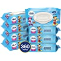Cottonelle Flushable 8 Flip-Top Packs Toddler Wipes
