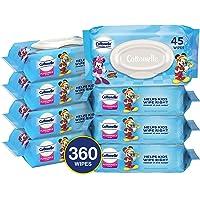 360 Wipes Cottonelle Flushable 8 Flip-Top Packs Toddler