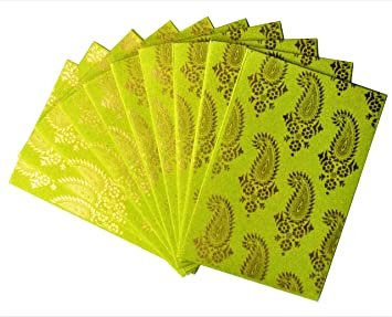 Purpledip Papier Card Envelope Lot De 10 Mystique Beaute