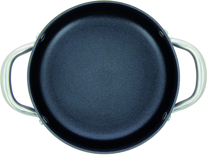 OGO LIVING 7930145 Daily Chef-Faitout en Aluminium Noir /Ø 20 cm