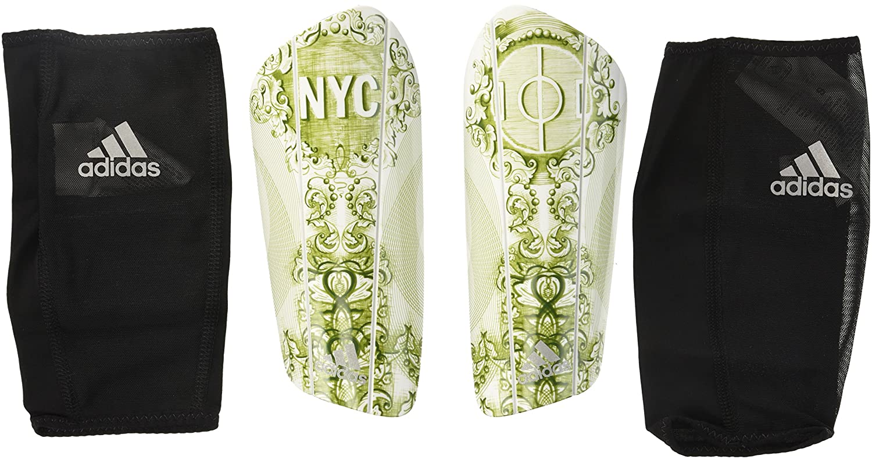 adidasゴーストプロシンガードすねあて B01AH8BV20 Small|NYC Print: Pantone/Pantone/Reflective NYC Print: Pantone/Pantone/Reflective Small