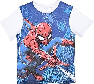 Marvel Ultimate Spiderman garçons à manches longues T-shirts