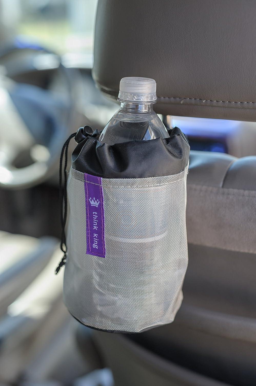 Soporte de botellas para carritos de beb/é Black-Silver Think King